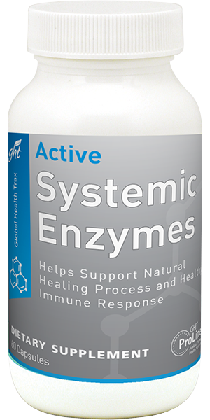 Active System Enzymes bottle image