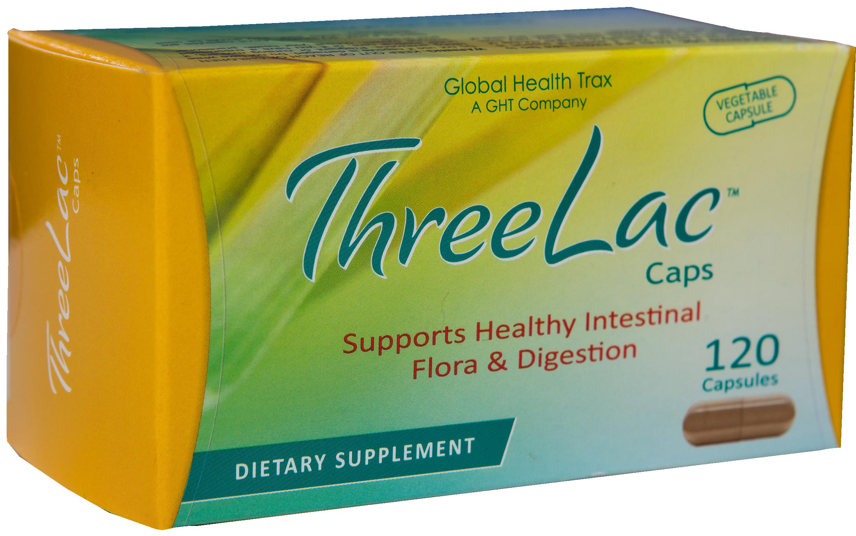 Threelac probiotic caps box