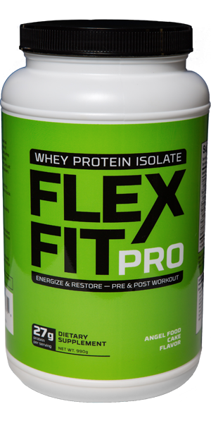 Flex fit pro container