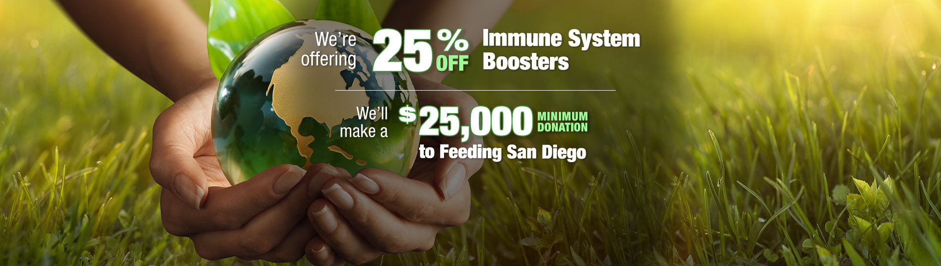 Promo Immune System Booster