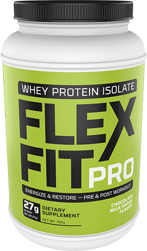 Flex Fit Pro Chocolate Flavor Container